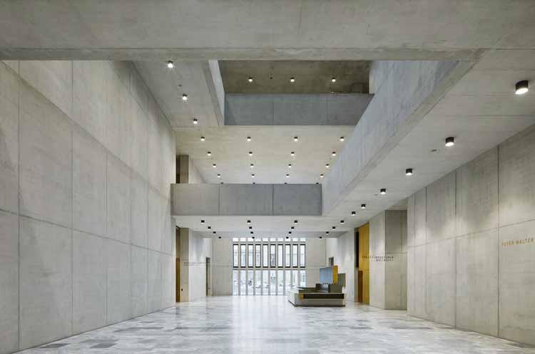 Расширение музея Кунстхаус Цюрих - архитекторы Дэвида Чипперфилда. Изображение © Ноше