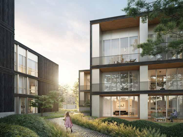 Дэвид Чипперфилд и Энцо Энеа создают роскошный дом у озера в Германии. Изображение © bloomimages_gmbh