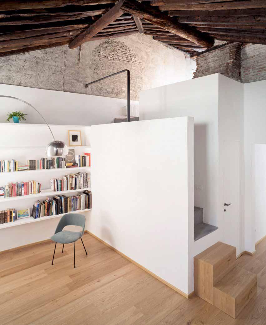 Кровать-дека в доме для морского волка в Генуе от Доди Мосс