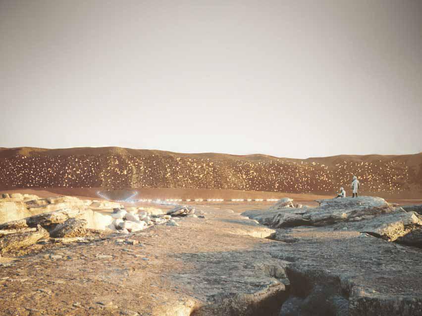 Марс-город Нюва превратится в дифференциал