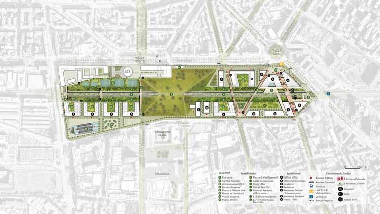 Предоставлено OUTCOMIST, Diller Scofidio + Renfro, PLP Architecture, CRA - Carlo Ratti Associati и Arup