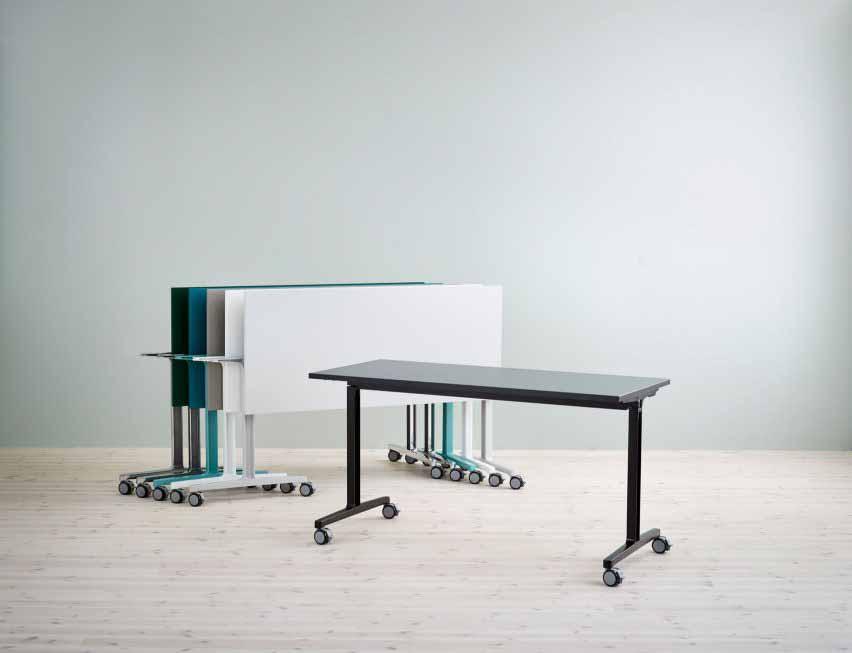 Складные и штабелированные столы от Flokk
