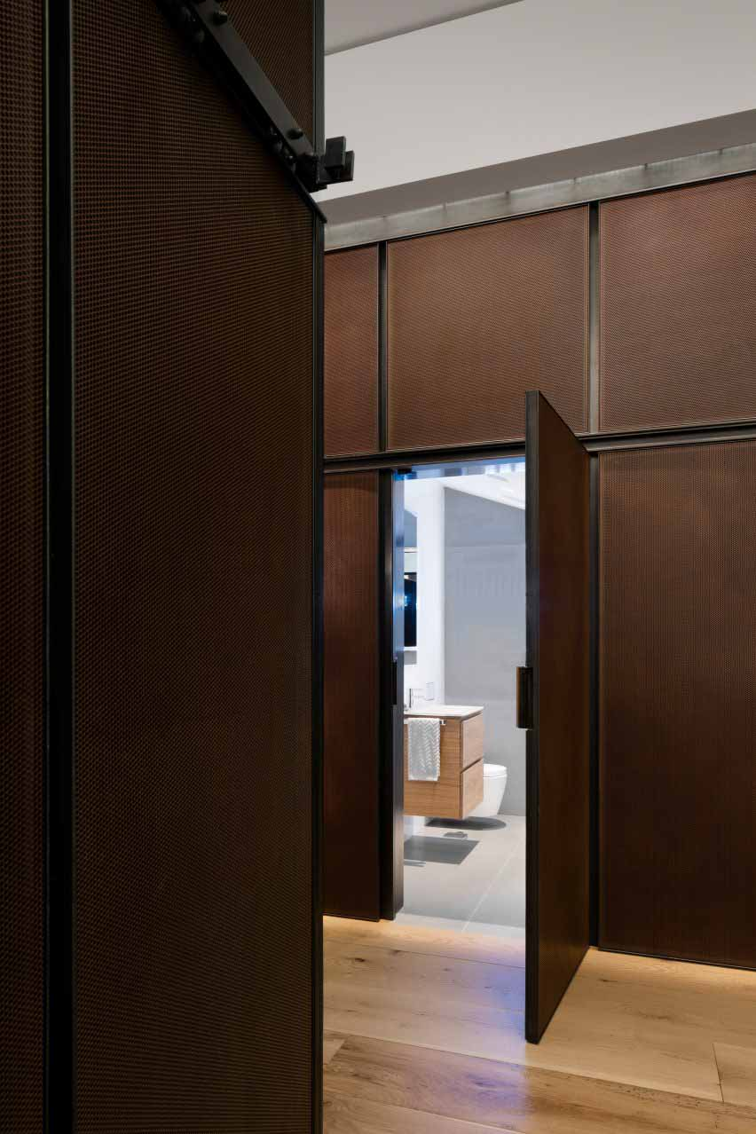 BC — OA спроектировал квартиру в Нью-Йорке.
