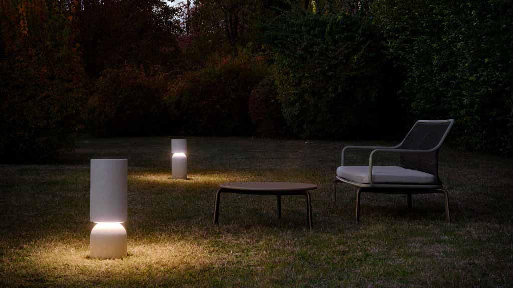 Luceplan расширяет коллекцию светильников «кочевого» типа для внутреннего и наружного освещения.