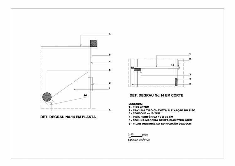 Деталь ступеньки. Розыгрыш: Edite Galote Carranza (CC BY 4.0). Извлекаются из [3]