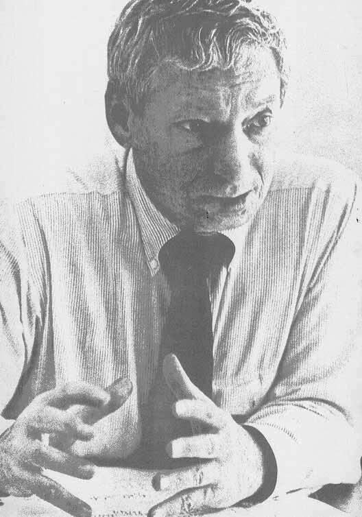 Портрет Луи И. Кана с фотографии Джорджа Поля. Изображение предоставлено дизайнерами и книгами
