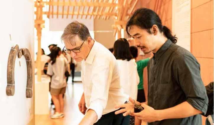 Общество дизайна - Оле Боуман и Чжан Лей. Изображение предоставлено Оле Буманом