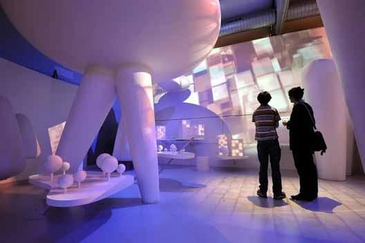 Нидерландский архитектурный институт 2007-2012 / Датчвилль (Stad van Nederland) почувствуйте город. Изображение предоставлено Оле Буманом