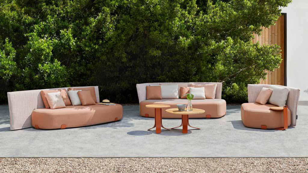 Коллекция уличных сидений Isla от Себастьяна Херкнера для Gan