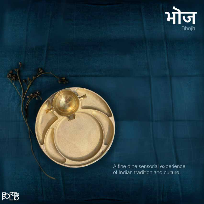Золотая посуда, предназначенная для еды руками