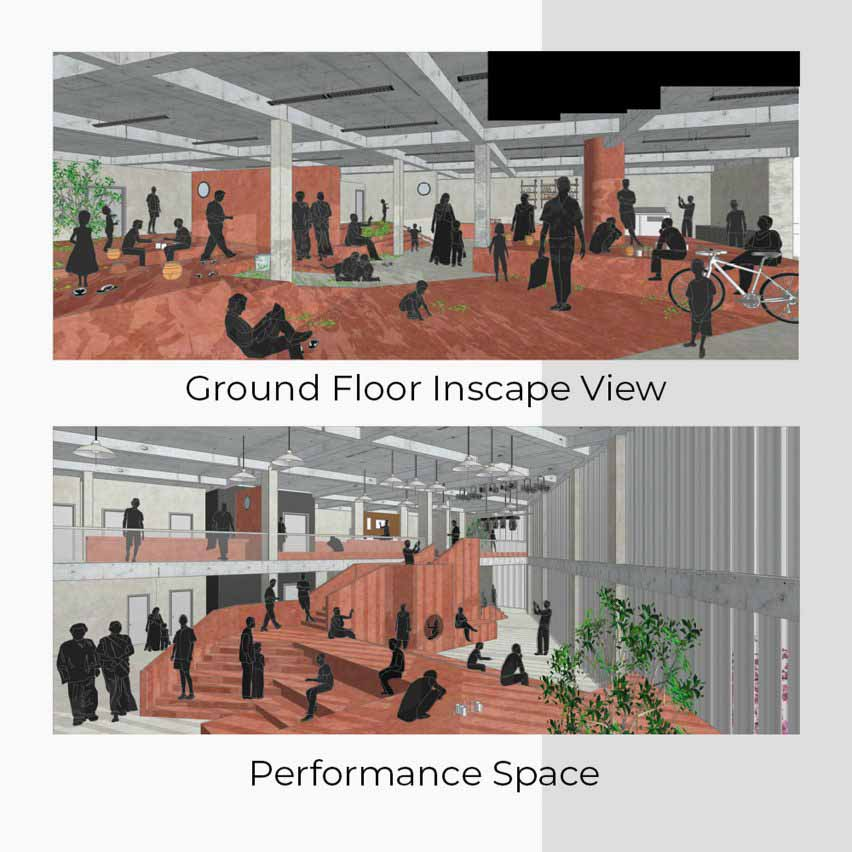 Визуализация трудового рекреационного учреждения Таши Сингх