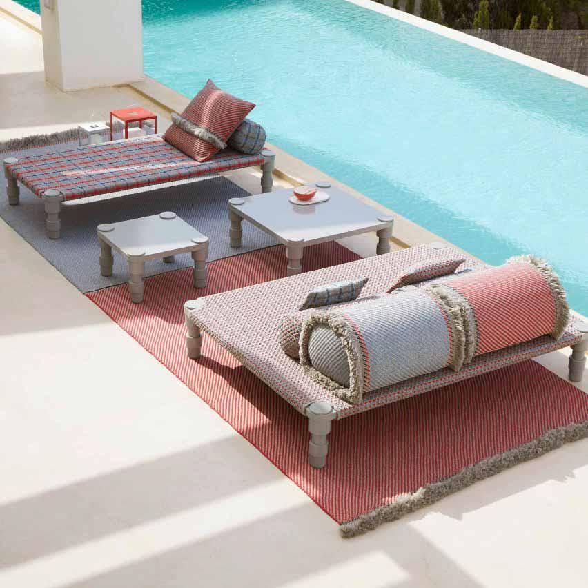 Уличная мебель Garden Layers от Патрисии Уркиолы для Gan