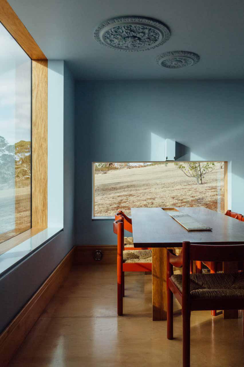 Длинный дом в Виктории, Австралия, спроектированный Partners Hill