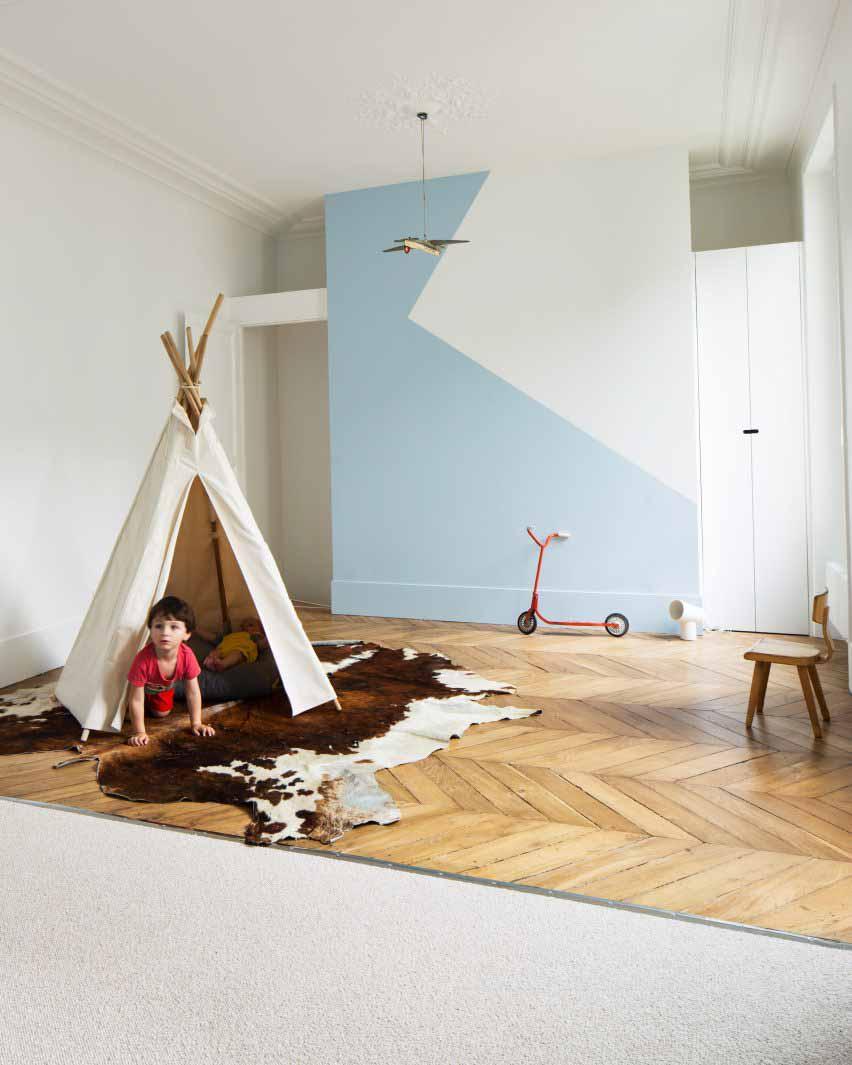 Квартира в Париже от Les Ateliers Tristan & Sagitta
