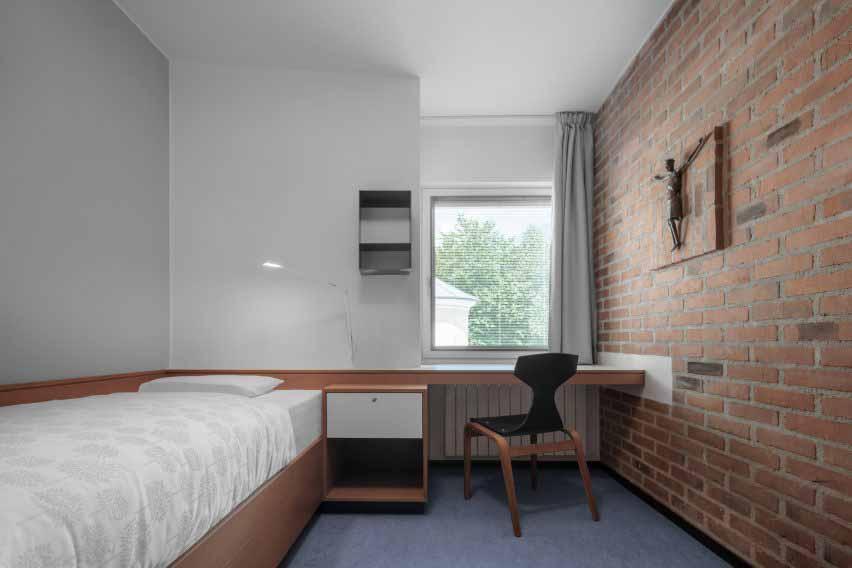 Ремонт спальни в Академии Кузануса от MoDus Architects