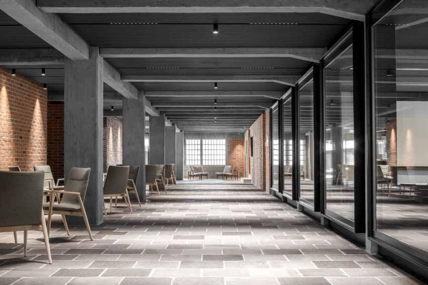 Новая ось в обновлении Cusanus Academy от MoDus Architects