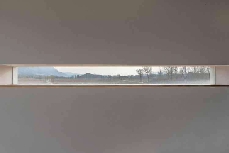 Вид на горы. Изображение © Бинь Чжан