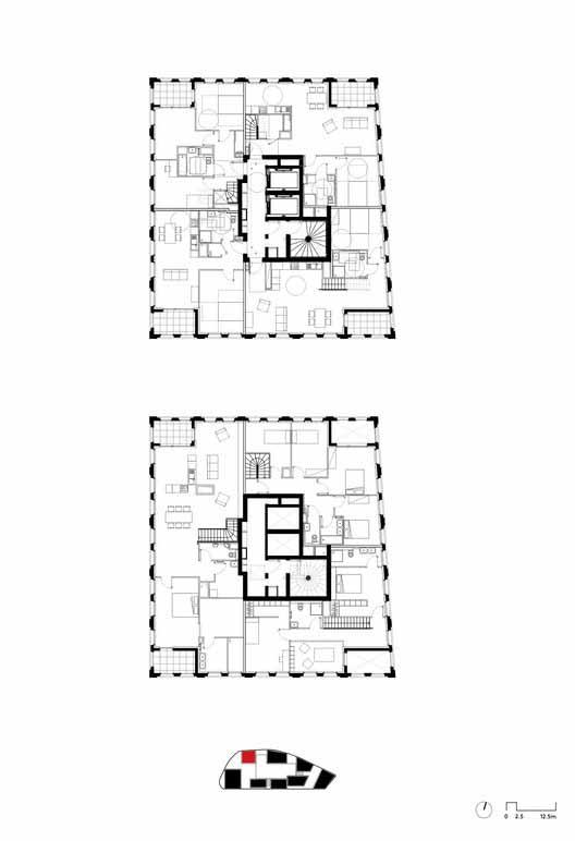 Типовой план этажа