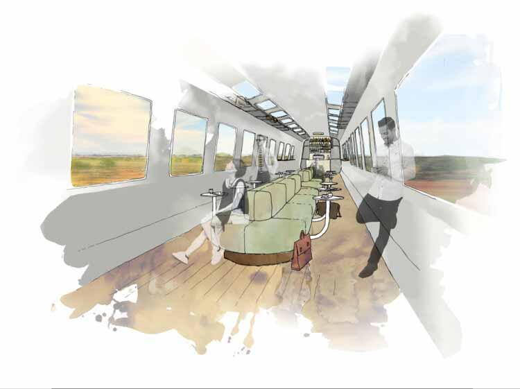 Электрифицировать транспорт от студии Foolscap. Изображение предоставлено Finding Infinity
