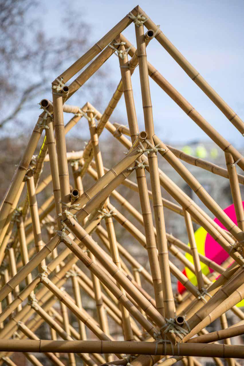 Бамбуковая конструкция