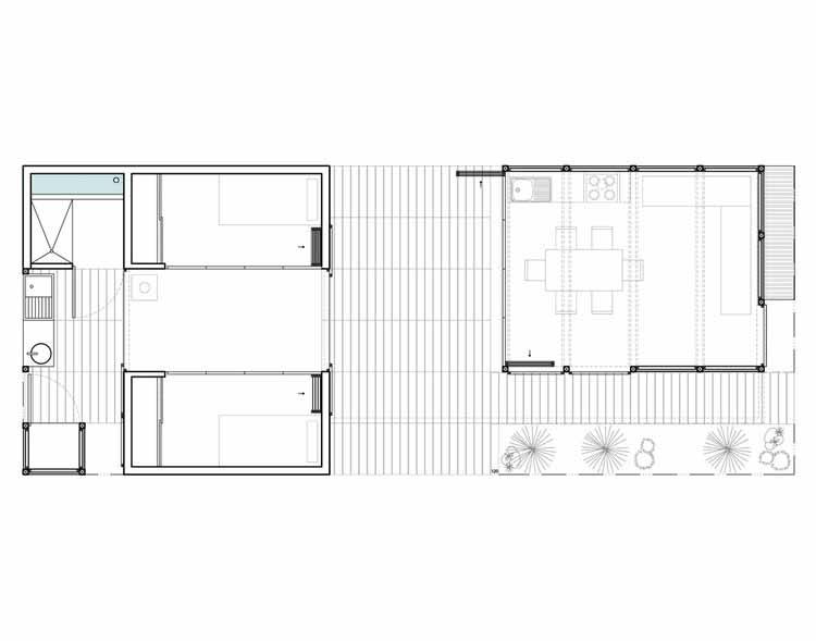 Планта - Casa Coberta / Comunidade Vivex