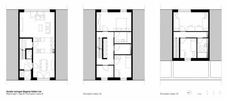 Planta - Bogerse Velden Social Housing / архитектурное бюро META