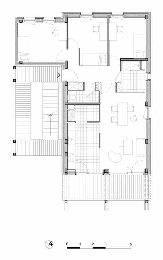 Планта Шово - 26 / ODILE + GUZY architectes