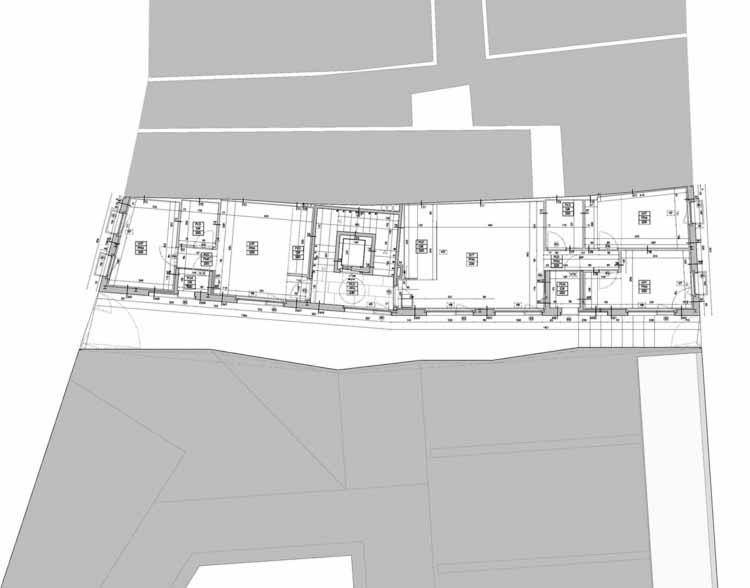 Planta - Habitação Social em Pamplona / Pereda Pérez Arquitectos