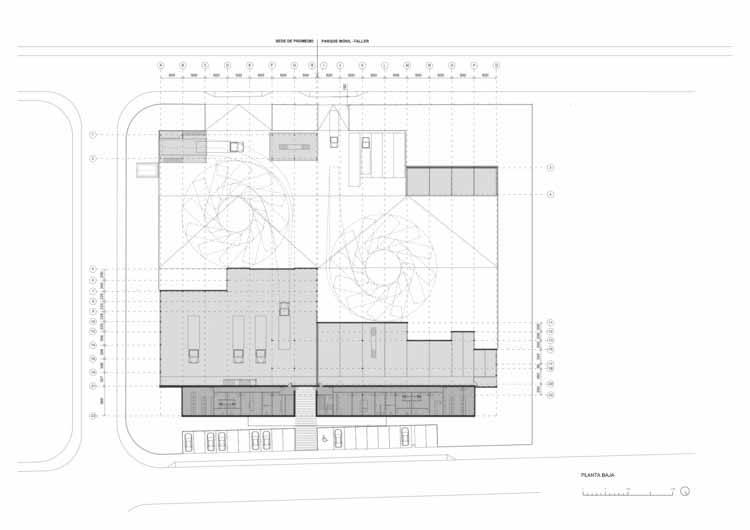 План этажа - Первый этаж