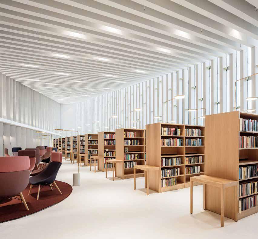 Читальный зал в Финляндии