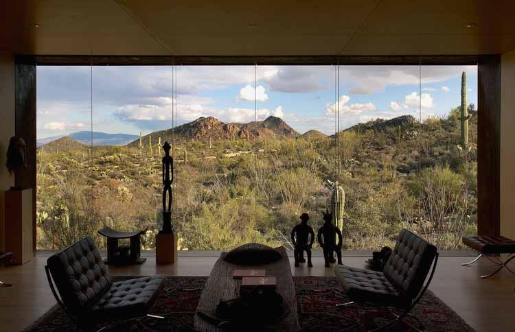 Дом пустынных кочевников / Студия Рика Джоя. Изображение © Джефф Голдберг / ESTO