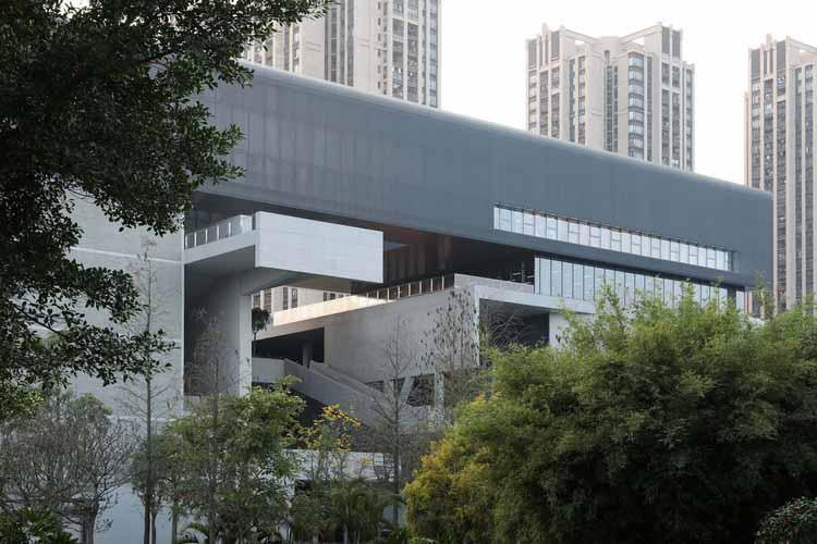 восточный фасад. Изображение © Shengliang Su