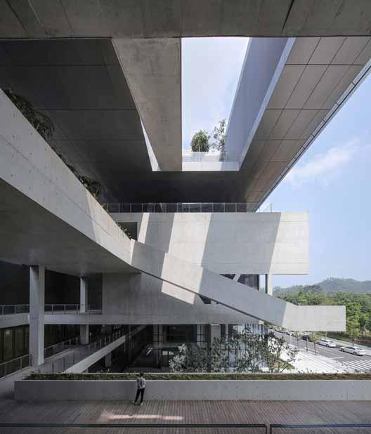общественная терраса. Изображение © Shengliang Su