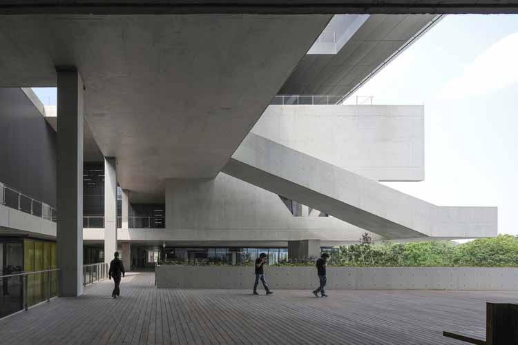 2F общественная терраса. Изображение © Shengliang Su