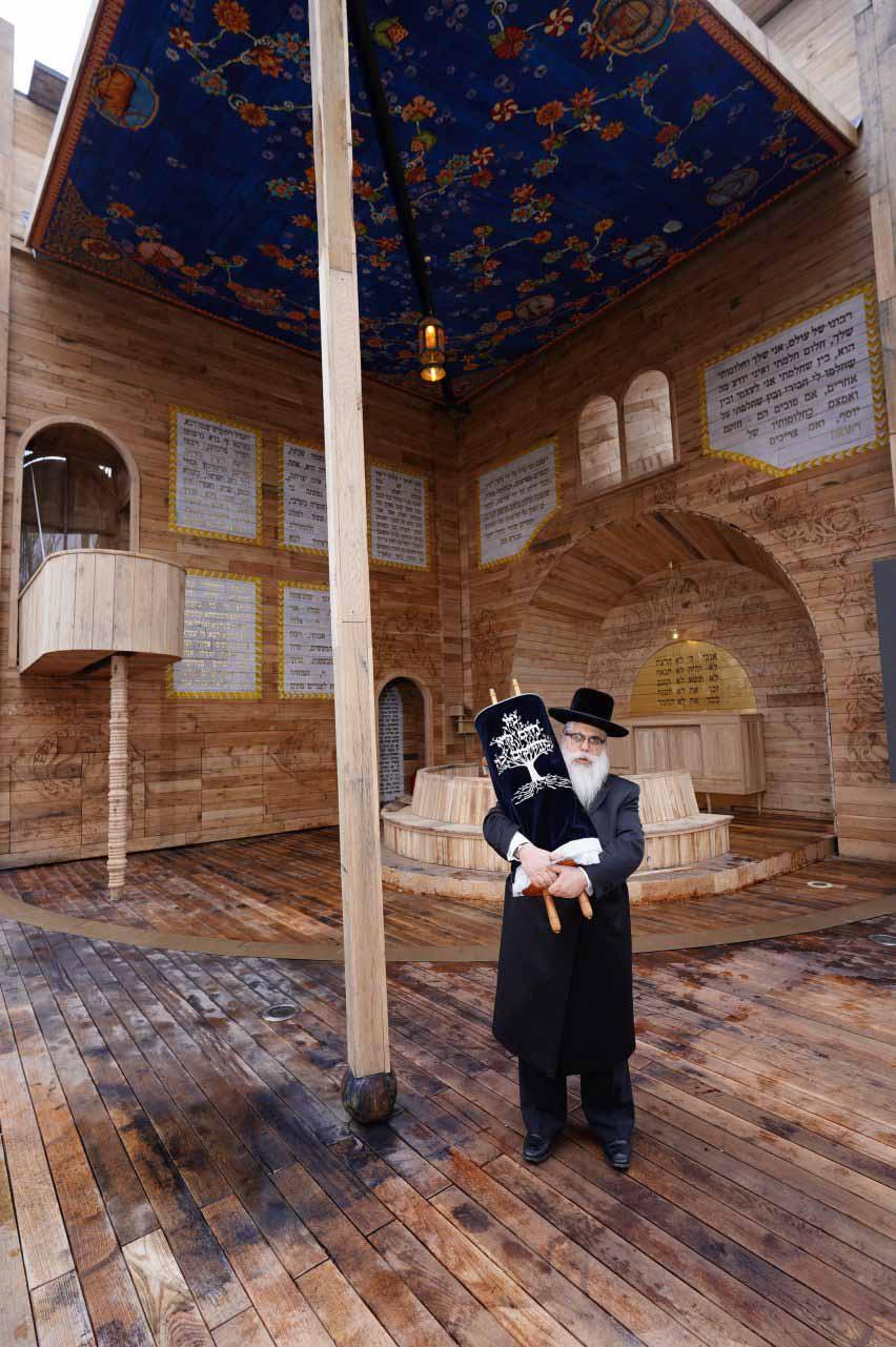 Всплывающая синагога в Украине