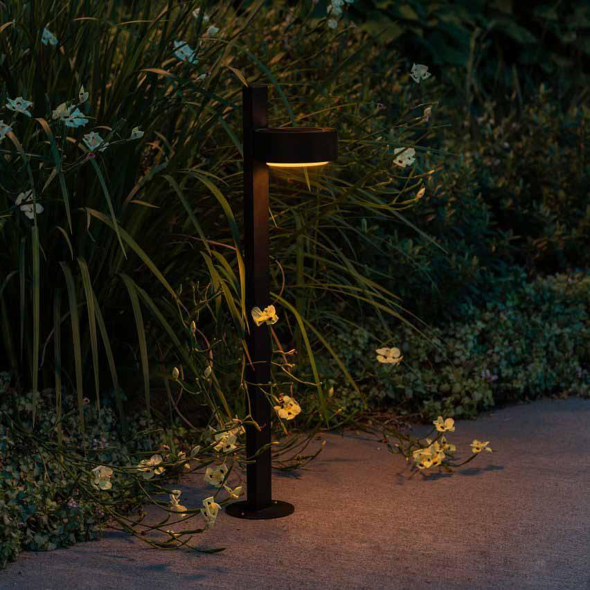 Плафф-он! настенный светильник для улицы от Joan Gaspar для Marset