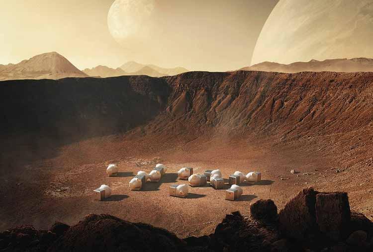 Архитектура на Марсе: проекты для жизни на Красной планете, MARS CASE / OPEN Architecture + Xiaomi. Изображение Cortesía de Xiaomi