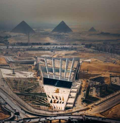 Большой Египетский музей придает историческим артефактам современный контекст, © Ахмед Вахба