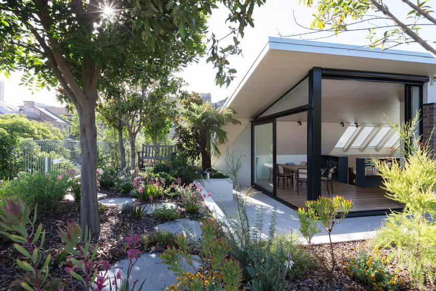 Сиднейский пентхаус с садом