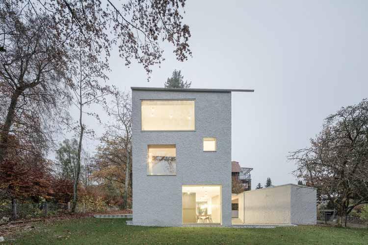 House Schwab / Architekturbüro Huber, © Florian Holzherr