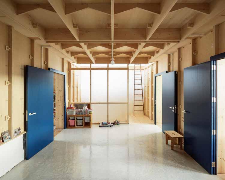 Фанерный дом / SMS Arquitectos, © Luis Diaz Diaz