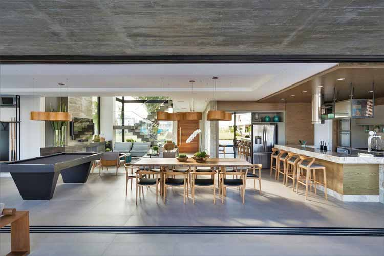 Голубоватый Дом / Студия Colnaghi Arquitetura, © Марсело Донадусси