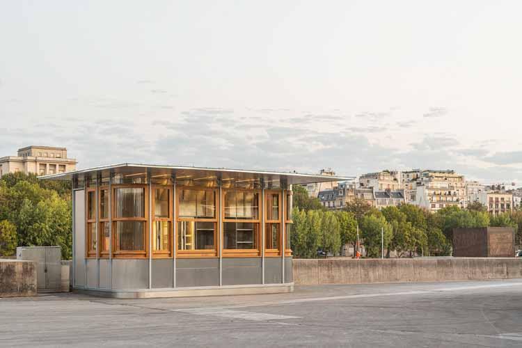 Киоск Эйфель / Архитектура Франклина Аззи, © Мы содержание