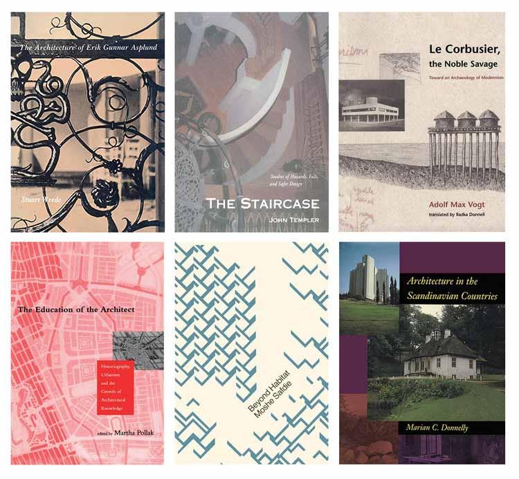 MIT запускает новую коллекцию в открытом доступе из 34 электронных книг по классической архитектуре и урбанистике, © MIT Press