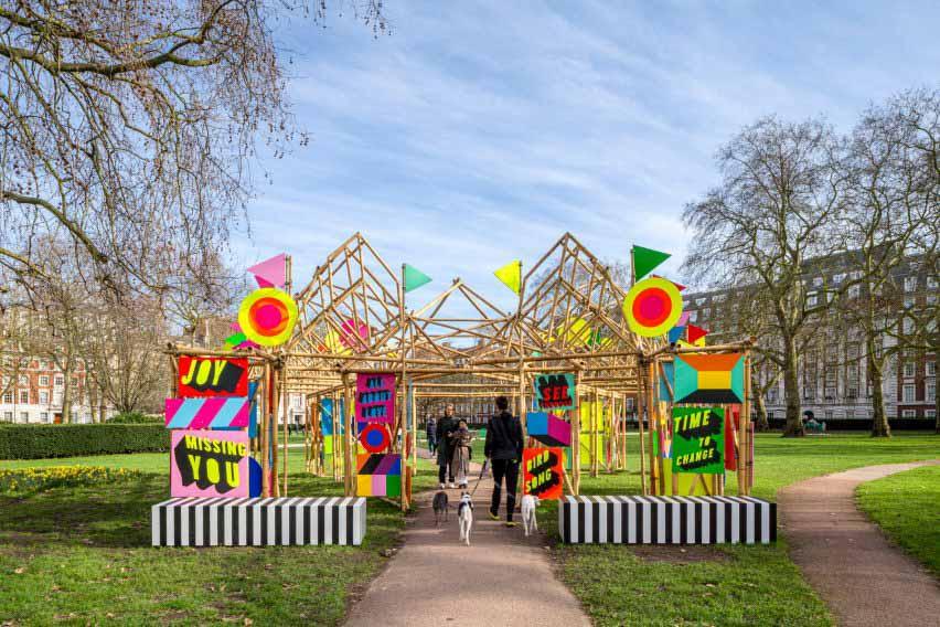 Бамбуковый павильон в Лондоне