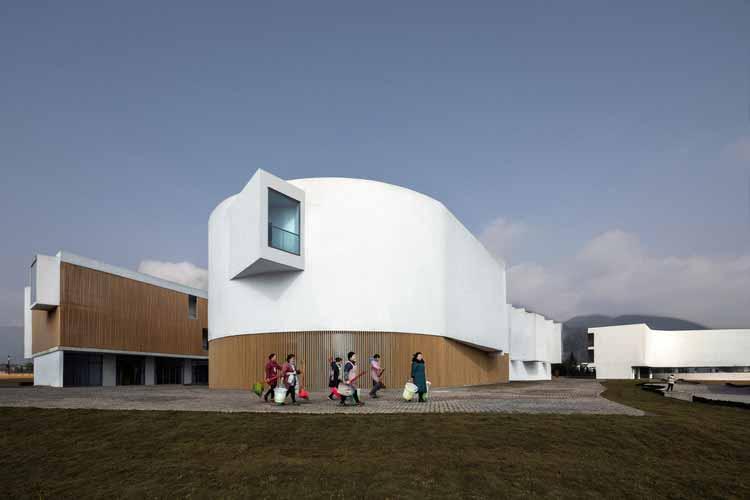 Музейный комплекс песочной посуды Инъяо / a9architects, © ARCH-EXIST