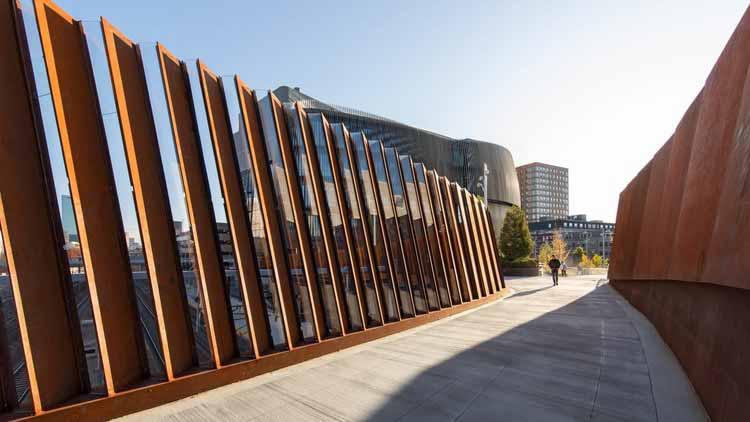 Объявлены победители премии AIA в области регионального и городского дизайна 2021 года, Междисциплинарный научно-технический комплекс Северо-Восточного университета имени Пайетта. Изображение предоставлено Американским институтом архитекторов