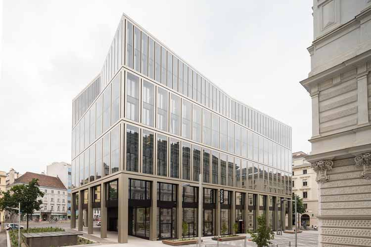 Офисное здание Rathausstraße 1 / Schuberth und Schuberth + Stadler Prenn + Ostertag, © Christoph Panzer