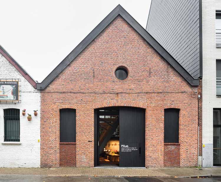 Офисы PSLab / B-architecten, © Ilse Liekens