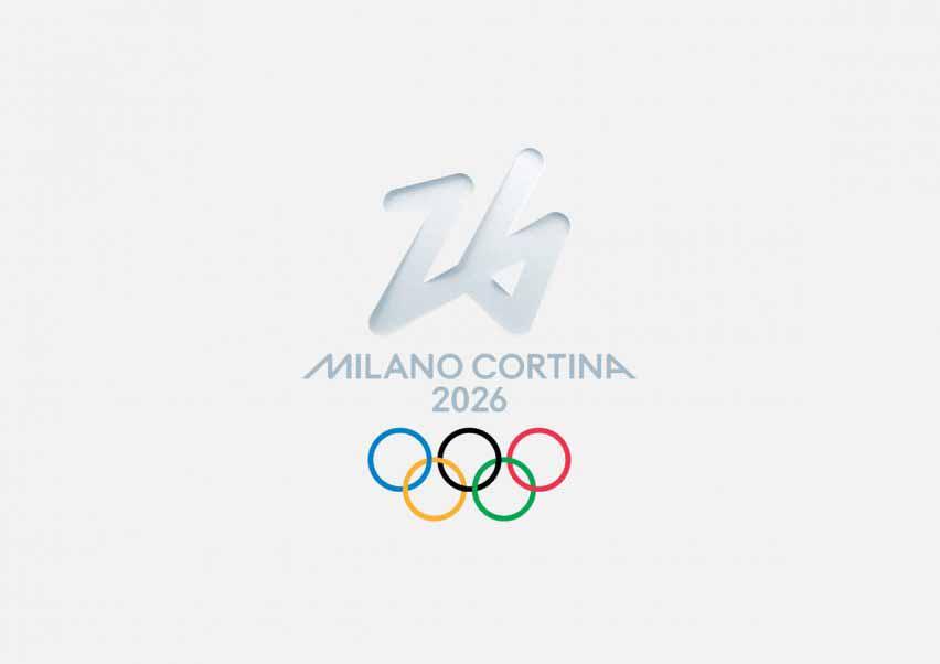 Зимние Олимпийские игры 2026 года имеют угловатый дизайн.
